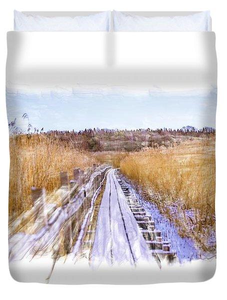 Long Way Artistic  Duvet Cover