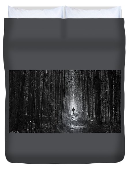 Long Way Home Duvet Cover