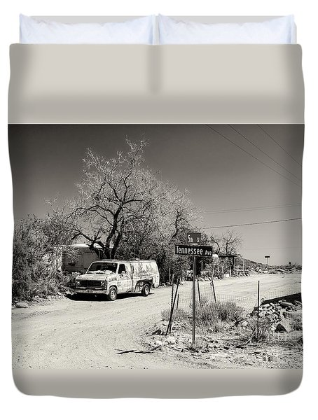Long Way To Tennessee Duvet Cover