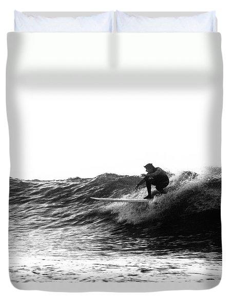 Longboard Duvet Cover by Rick Berk