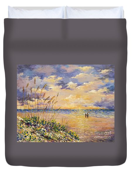 Longboat Key Hockleys View Duvet Cover