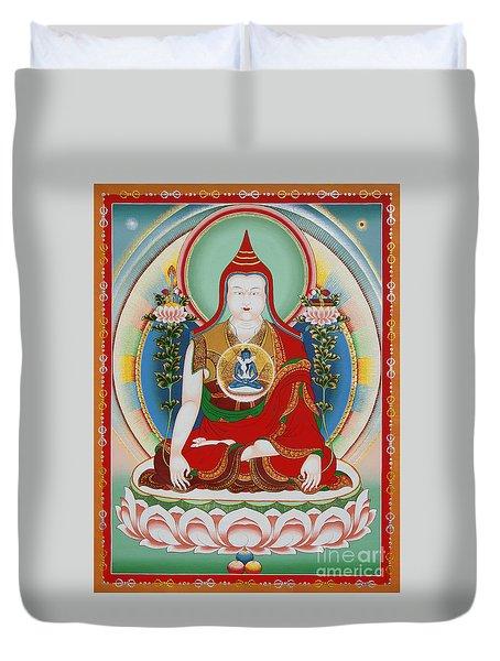 Longchenpa Duvet Cover