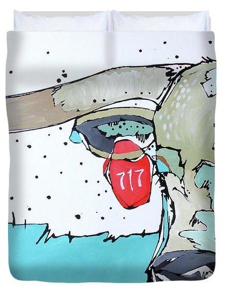 Longhorn No. 717 Duvet Cover
