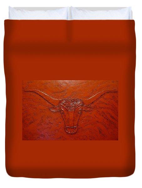 Longhorn Duvet Cover