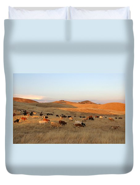 Longhorns Duvet Cover