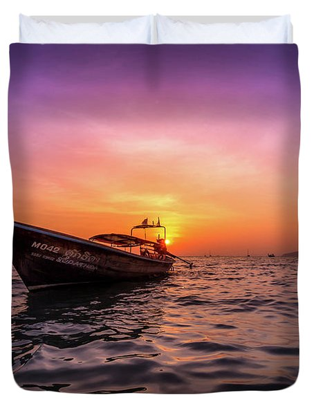 Longtail Sunset Duvet Cover