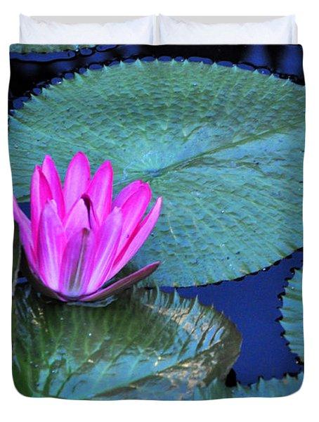 Longwood Gardens Water Lotus Duvet Cover