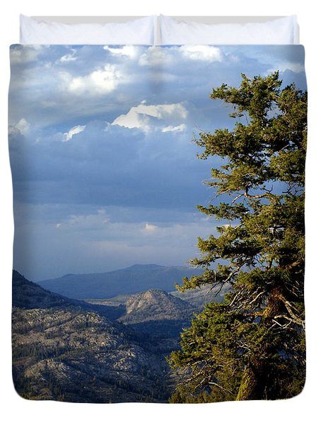 Lonly Tree Duvet Cover by Marty Koch