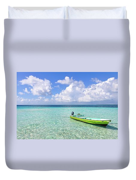 Look At This Beautiful Blue Water Duvet Cover