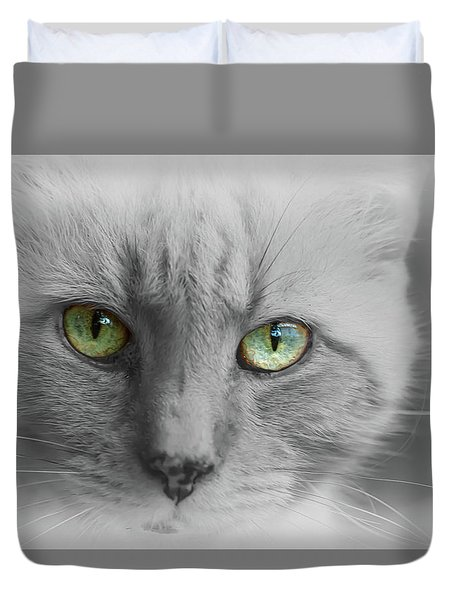 Look Into My Eyes  Duvet Cover