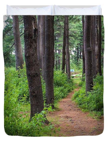 Look Park Nature Path Duvet Cover