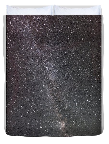 Duvet Cover featuring the photograph Look To The Heavens by Sandra Bronstein