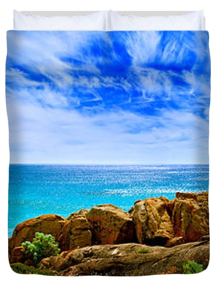 Look To The Horizon Duvet Cover