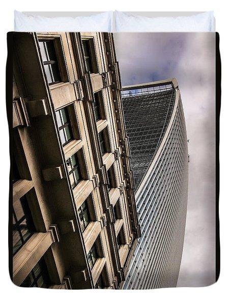 Look Up Duvet Cover by David Warrington