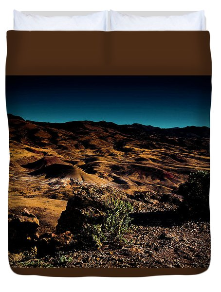 Looking Across The Hills Duvet Cover