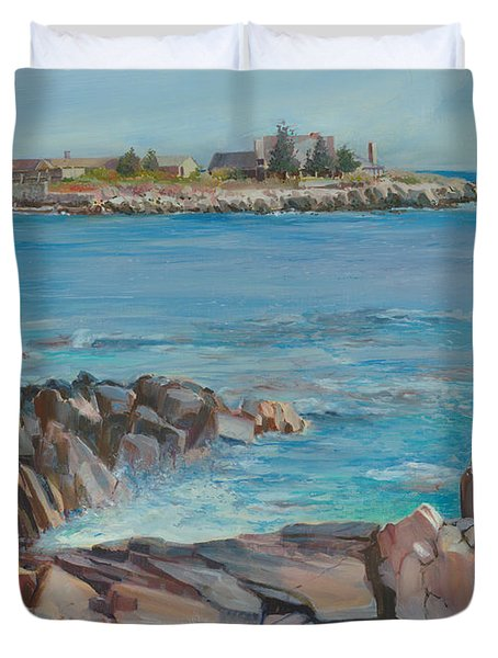 Looking At Walkers Point Estate  Duvet Cover