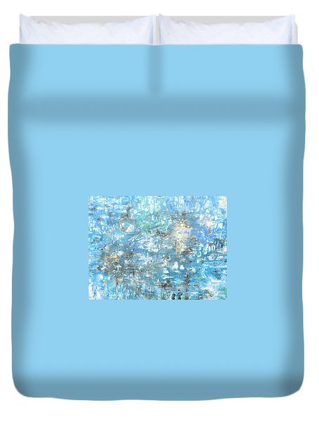 Looking For Heaven Duvet Cover