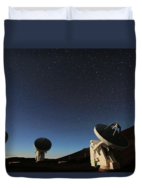 Looking For Space Duvet Cover
