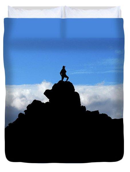 The Summit Hunter Duvet Cover