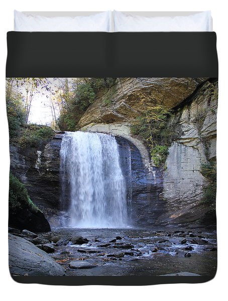 Looking Glass Falls Duvet Cover