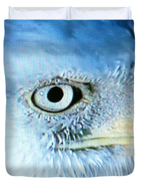 I See You Duvet Cover by Beverly Johnson