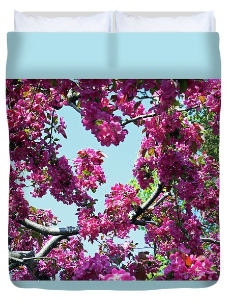 Looking Skyward Duvet Cover
