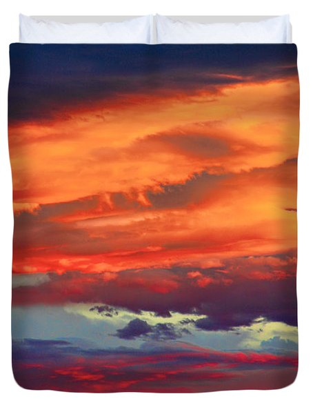 Looking To Boulder Duvet Cover by James BO  Insogna