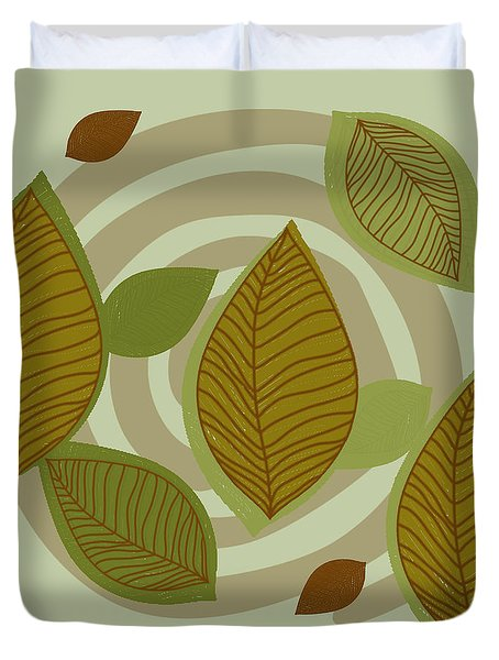 Looking To Fall Duvet Cover by Kandy Hurley