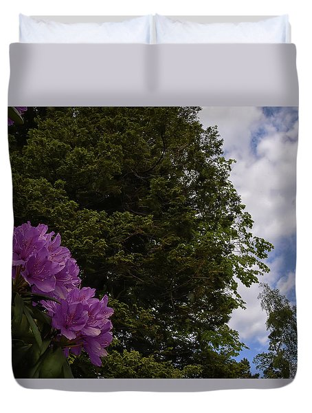 Looking To The Sky Duvet Cover
