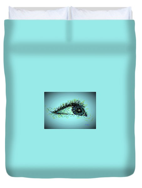 Looking Up Duvet Cover by Denise Fulmer