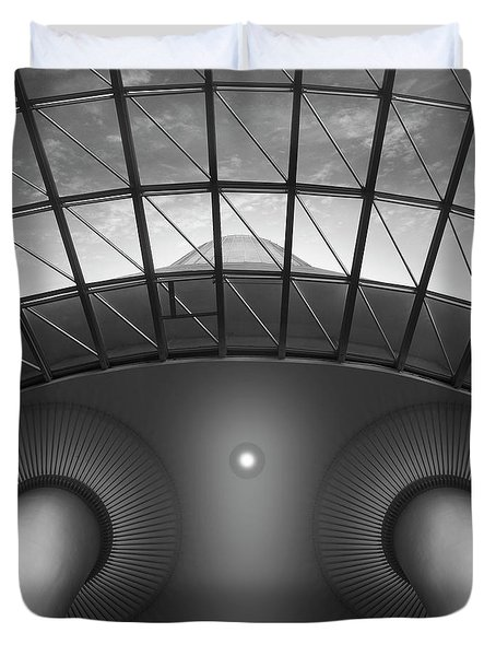 Looking Up Duvet Cover by Mike McGlothlen