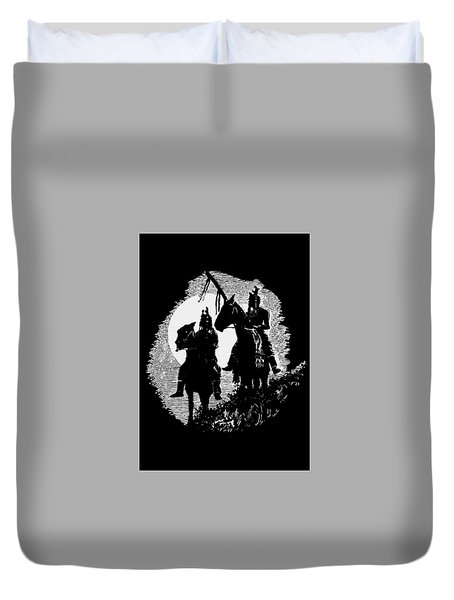 Lookouts Duvet Cover