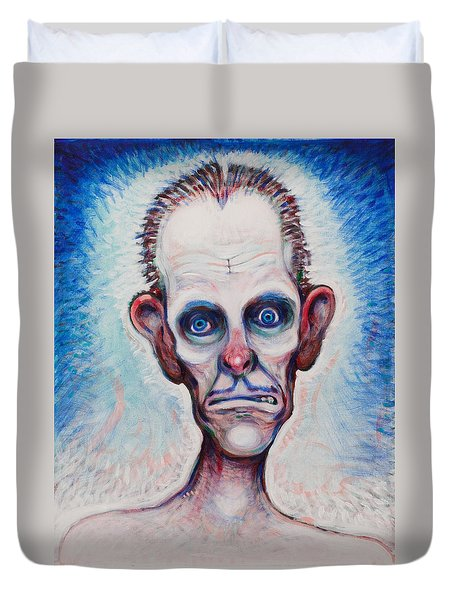 Looks A Fright Duvet Cover