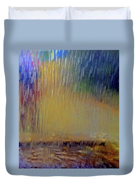 Duvet Cover featuring the photograph Looks Like Rain by Nareeta Martin