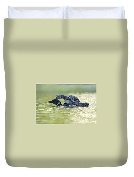 Loon 5 Duvet Cover