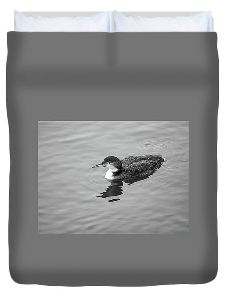 Loon  Duvet Cover