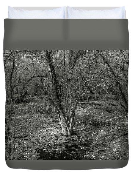 Loop Road Swamp #3 Duvet Cover