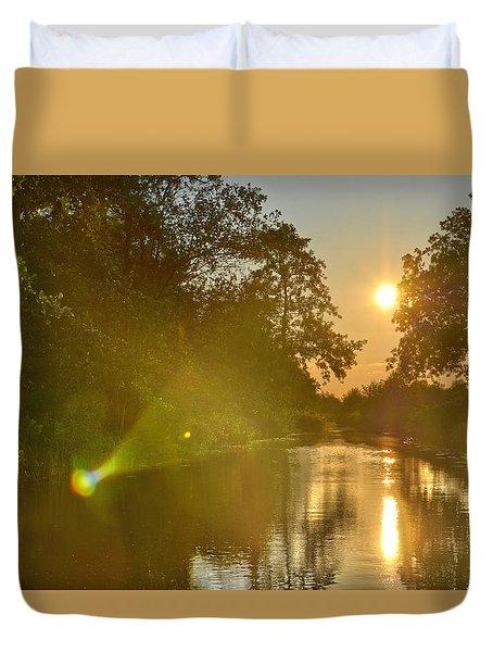 Loosdrecht Lensflare Duvet Cover