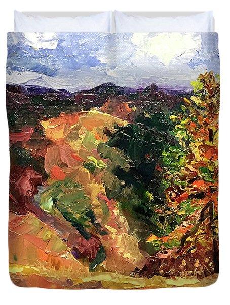 Loose Landscape Duvet Cover