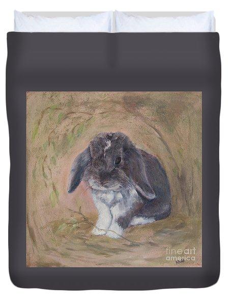 Lop Eared Rabbit- Socks Duvet Cover