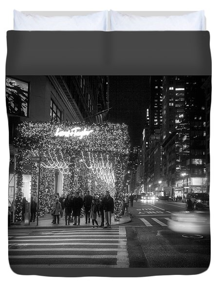 Duvet Cover featuring the photograph Lord And Taylor by Ross Henton