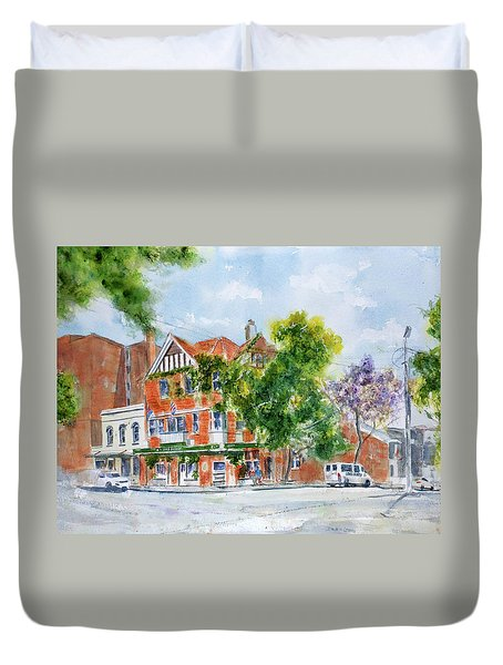 Lord Dudley Hotel Duvet Cover