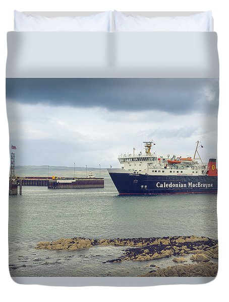 Lord Of The Isles Duvet Cover by Ray Devlin