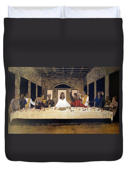 Lord Supper Duvet Cover