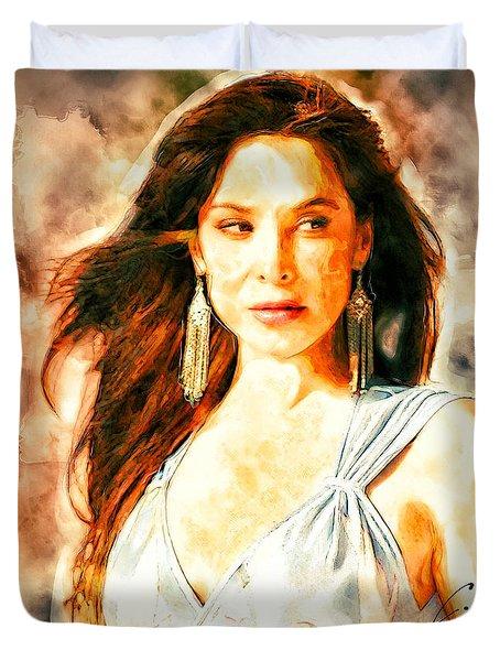 Lorena Rojas Duvet Cover
