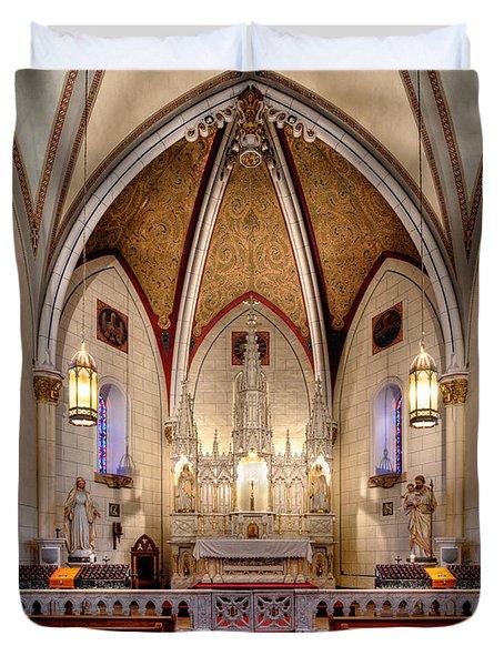 Loretto Chapel Duvet Cover