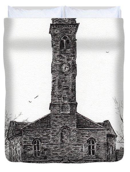 Lorne And Lowland Parish Church Duvet Cover