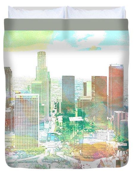 Los Angeles, California, United States Duvet Cover