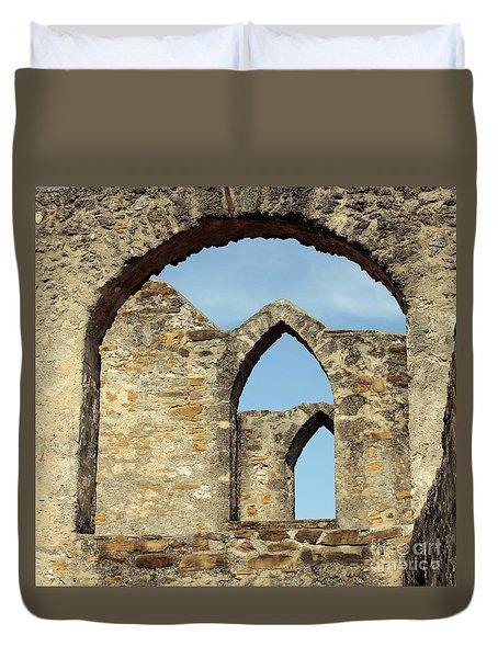 Los Arcos De La Mision San Jose Duvet Cover