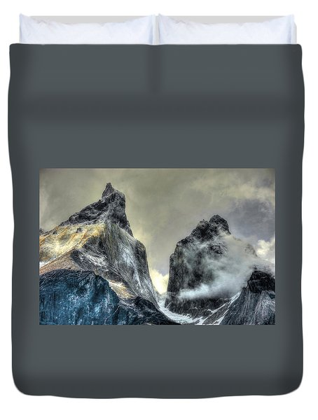 Los Cuernos-the Horns Duvet Cover